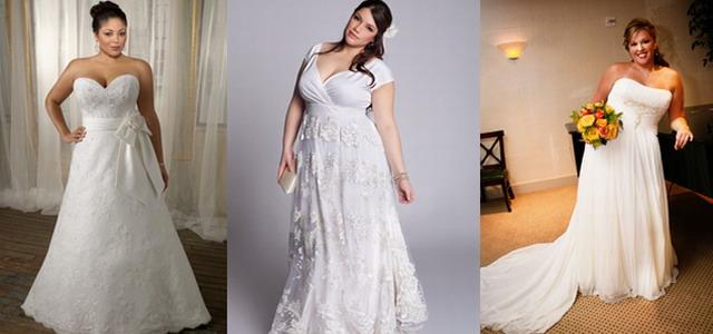 Украшения на свадебных платьях для полных
