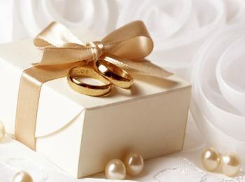 Традиционное золотое свадебное украшение