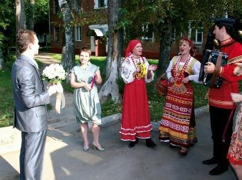 Встреча жениха перед выкупом невесты