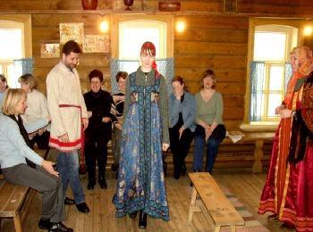 Смотрины невесты в русском доме