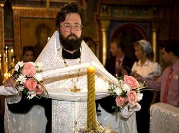 Зажигание венчальных свеч