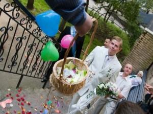 Смешно выкупаем невесту: первая часть сценария