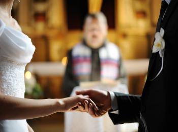 Современный церковный брак