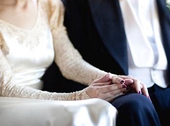 Невеста в женихом