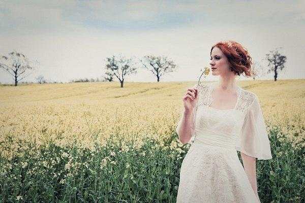 Красивое платье для стильной невесты