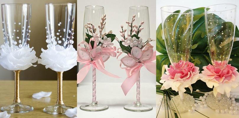 Цветочные мотивы в оформлении свадебных атрибутов