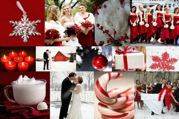 Идеи для рождественской свадьбы