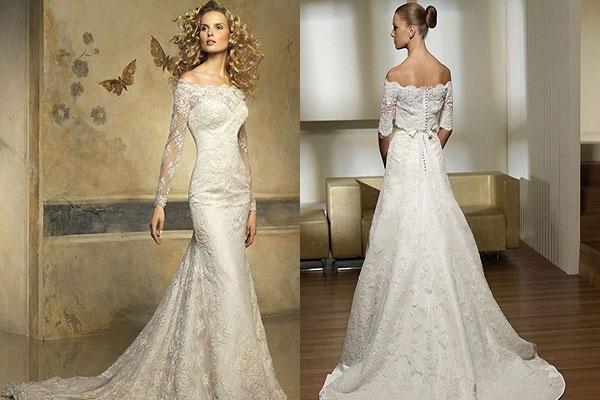Элегантный образ для невесты
