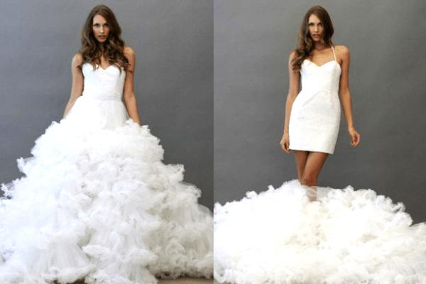 Платье-трансформер для невесты
