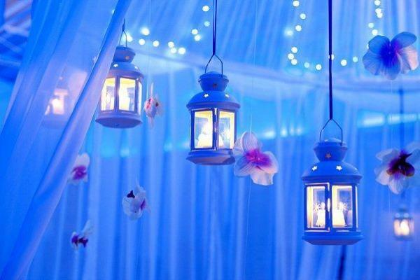 Светильники в форме подвесных фонариков