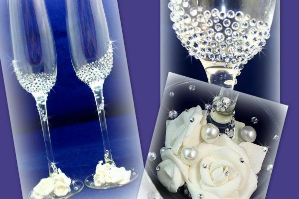 как самому украсить на свадьбу