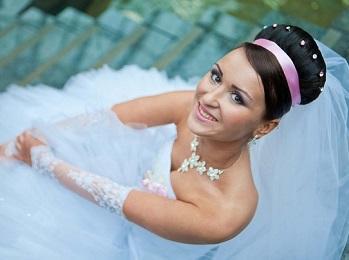Во время свадьбы