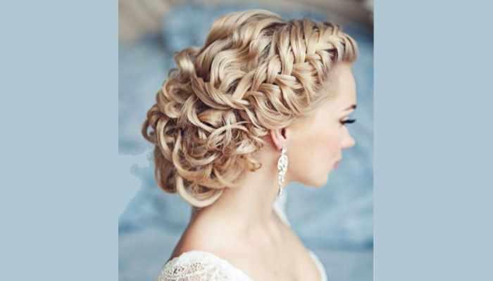 Красивая многопрядная коса завернутая в узел