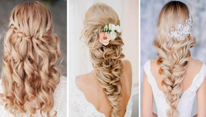 Свадебные прически с косами в греческом стиле