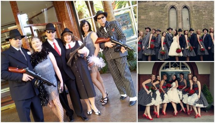 Гости на свадьбе Чикаго должны быть в специальных нарядах