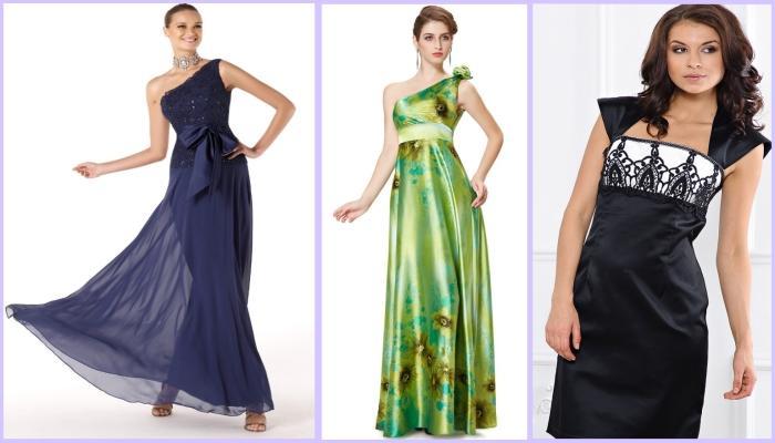 Платья, визуально уменьшающие слишком большой объем бедер