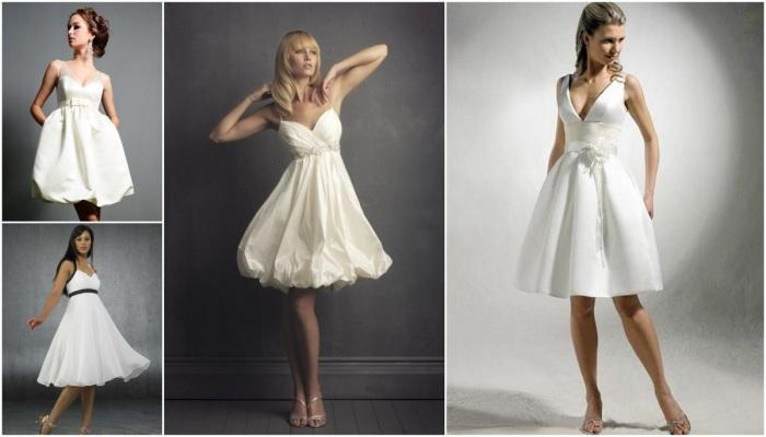 В стиле ампир допустимы укороченные греческие платья