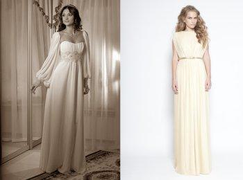 Свадебные платья в древнегреческом и древнеримском стилях