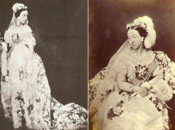 Подвенечное платье королевы Виктории стало прародителем моды на белые свадебные платья