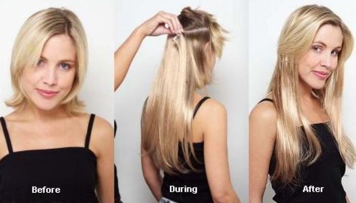 Прическа на короткие волосы с трессами 165