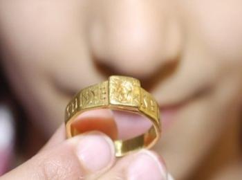 На Руси в 9 веке царь приказал всем желающим обвенчаться дарить невестам золотые кольца