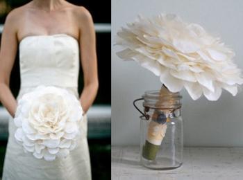 Гламелия - самый трудоемкий и дорогой вариант свадебного букета