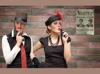 Свадьба в гангстерском - это широкий полет фантазии при организации и веселье при проведении