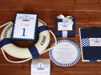 Варианты аксессуаров для украшения морской свадьбы