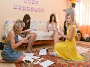 Подготовка подружек невесты к выкупу по сценарию