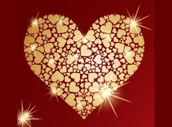 В конце празднества юбиляры и гости соединяют части золотого сердца как символ крепкой семьи
