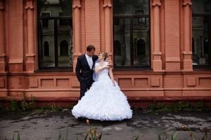 Свадебное фото Алексея и Алёны