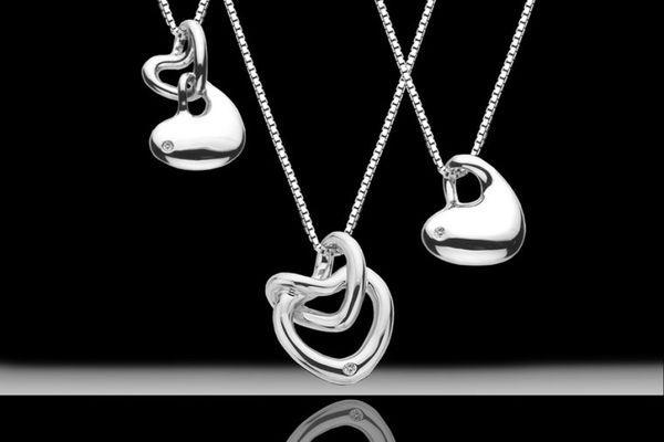 Серебряные украшения на юбилей