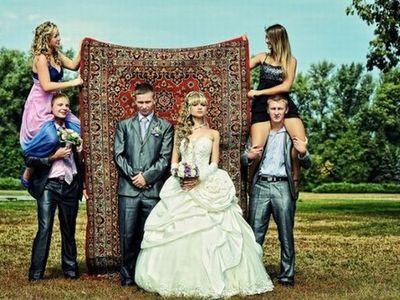 Забавный сценарий выкупа невесты в стиле девяностых