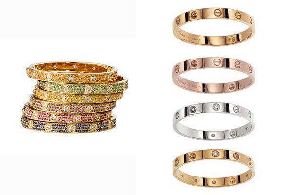Обручальные кольца серии Love