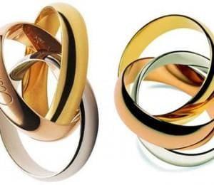 Кольца Тринити от Картье
