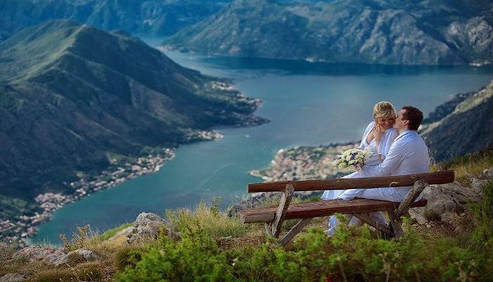 Бракосочетание в Черногории