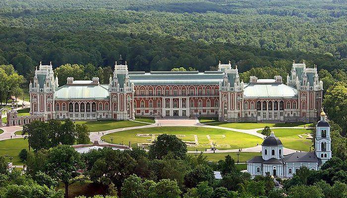 Самый большой музей Москвы - Царицыно
