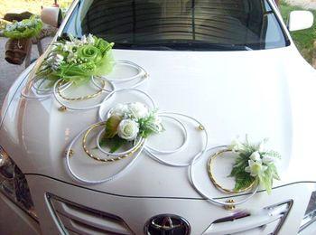 Изготовление украшений для свадебных автомобилей