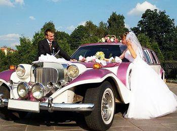 Свадебные ретро-авто