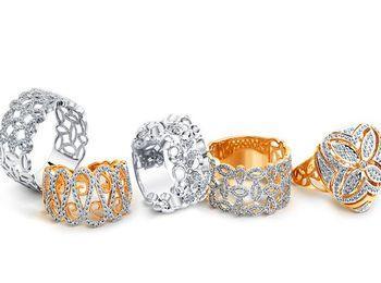 Ажурные кольца от Соколова