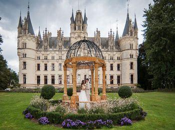 Роскошный замок во Франции