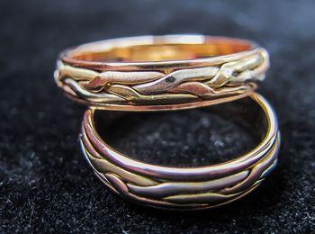 Плетение из комбинированного металла