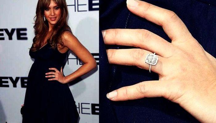 Помолвочное кольцо Джесики Альбы