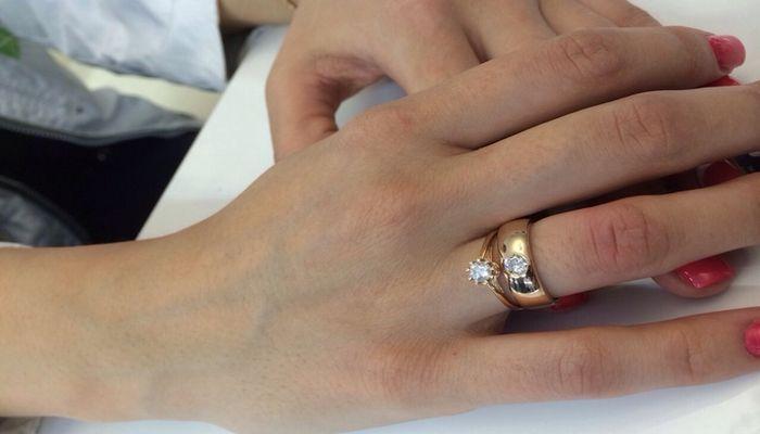 Традиционные кольца невесты