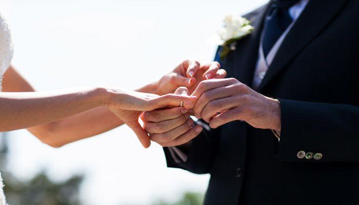 Перед бракосочетанием снимаются все украшения