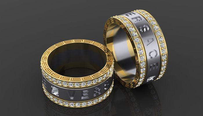 Кольца от Версаче