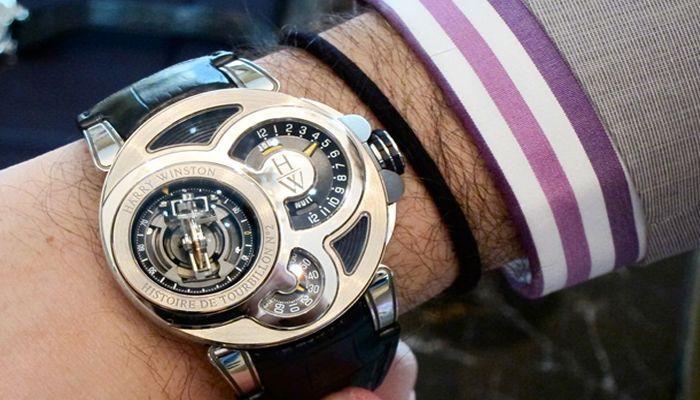 Мужские часы от Harry Winston