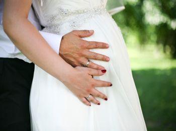 Свадебное торжество и беременность