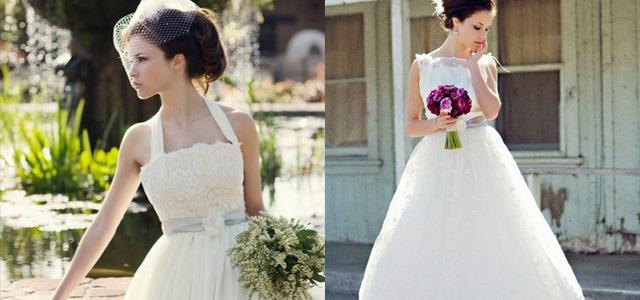 Свадебные платья в стиле ретро 40-х годов