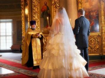 Венчание в православной церкви фото